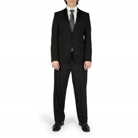 Emporio Armani S1V26Z-S1066-999-NERO-Black-56 Mens Suit, Black - Size (Armani Suit)