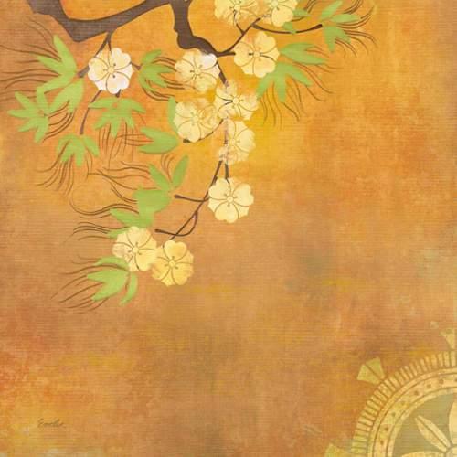 Marmont Hill  Zen Chakra III  Wall Decor  Flowers  Home Decor  Canvas Art  ;18 x 18