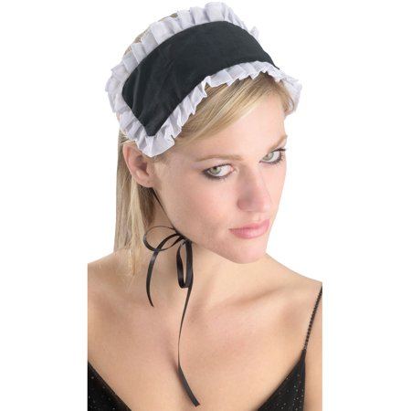French Maid Headpiece Hat Costume Accessory