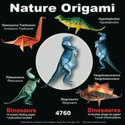 Yasutomo Fold'ems Nature Origami Kit, 5-7/8, Dinosaurs