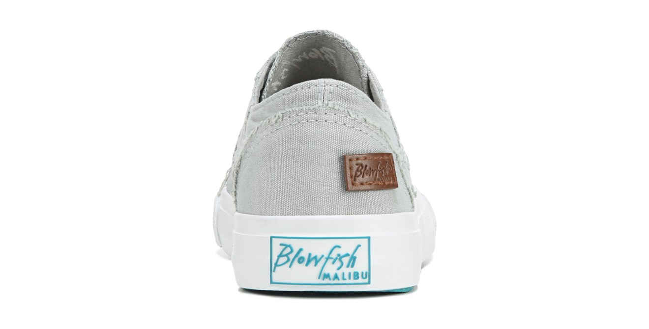 8cab261628c69 Blowfish - Blowfish Womens Marley Slip On Sneaker (6.5, Sweet Grey Color  Washed Canvas) - Walmart.com