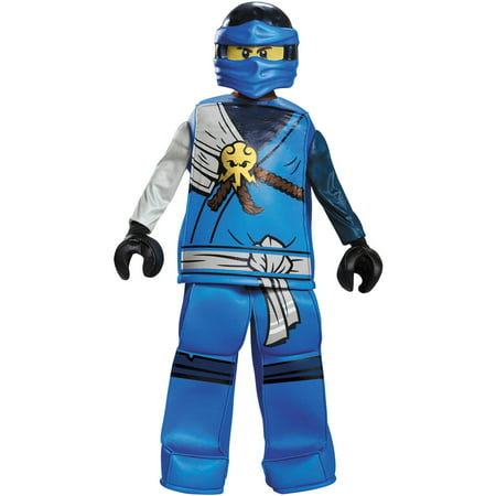 Boys' Lego Ninjago Movie Jay Prestige Costume - Famous Movie Costumes