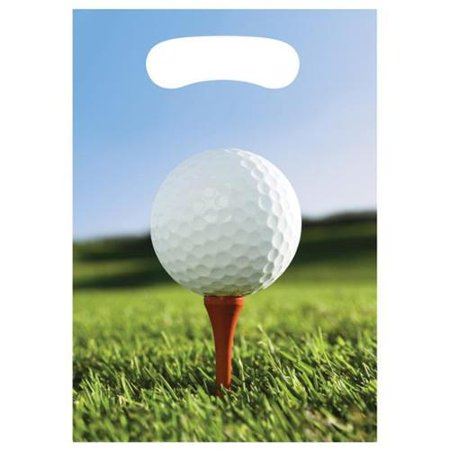 Golf Loot Favor Bags (8 Pack) - Party Supplies - Golf Favors Ideas