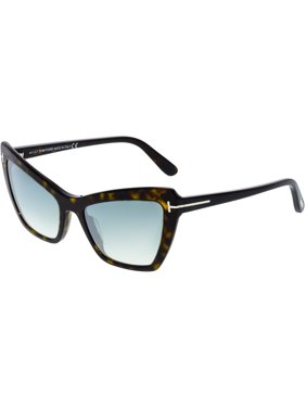 c0c20c45eb Product Image Tom Ford Women s Mirrored Valesca FT0555-52X-55 Brown Cat Eye  Sunglasses
