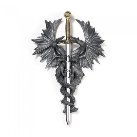 DRAGON DAGGER WALL PLAQUE ()