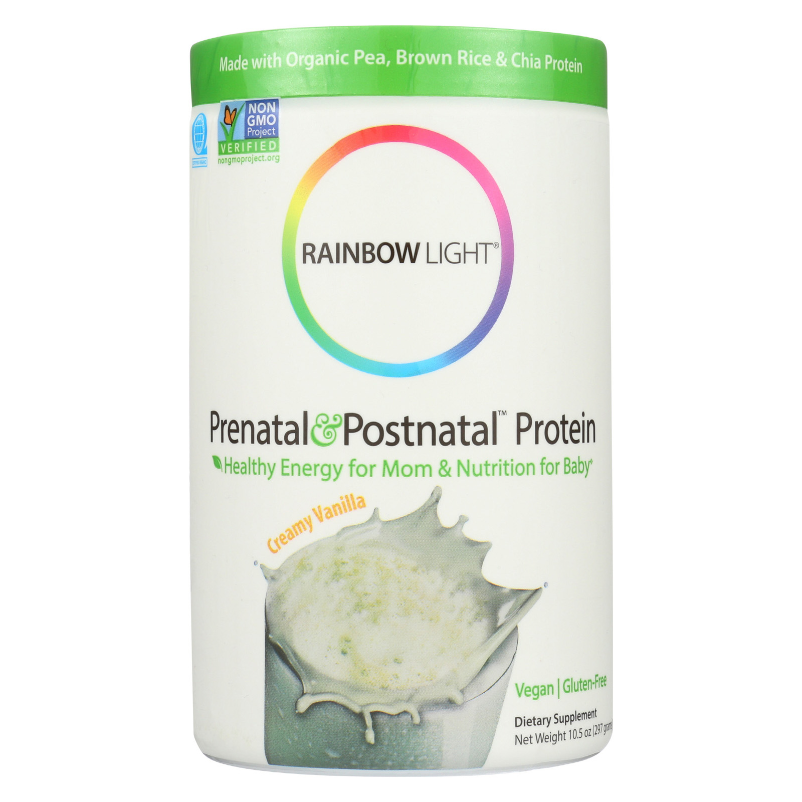 Rainbow Light Prenatal & Postnatal™ Protein Vanilla Tub 10.5 oz