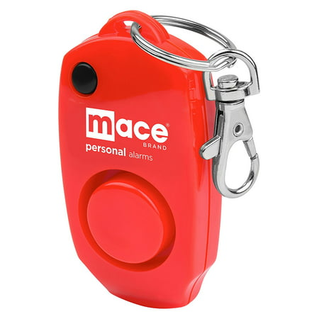 Mace Brand 130 dB Personal Alarm with Backup Whistle, Hidden OFF Button and Bag / Purse Clip