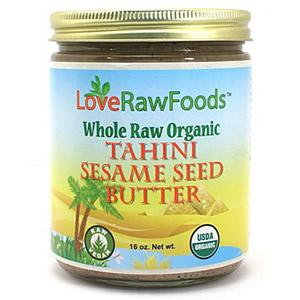 Love Raw Foods Tahini Sesame Seed Butter - Raw 16 oz.