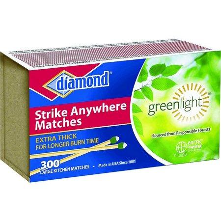 Diamond Singles 02123 Strike Anywhere Match  Aspen
