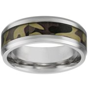 Stainless Steel Ring Camouflage