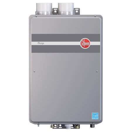Rheem rtgh 95dvlp prestige indoor direct vent low nox for 4 bathroom tankless water heater