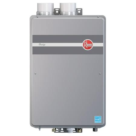 Rheem rtgh 95dvlp prestige indoor direct vent low nox for 5 bathroom tankless water heater