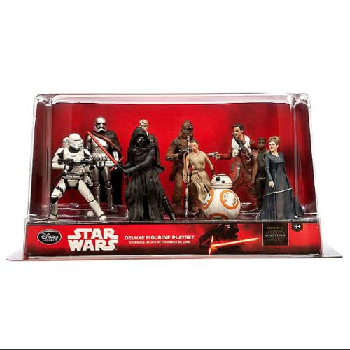 Star Wars The Force Awakens Deluxe PVC Figure Play Set