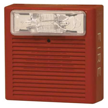 Horn Strobe,Red,0.170A,Wall Mnt,115 CP EATON CN125710