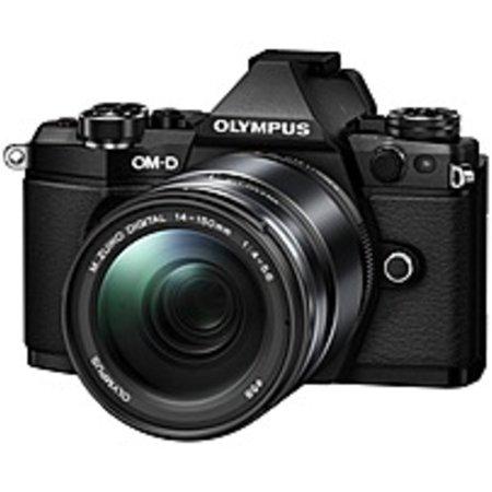 Refurbished Olympus OM-D E-M5 Mark II 16.1 Megapixel Mirrorless Camera with Lens - 14 mm - 150 mm - Black - 3