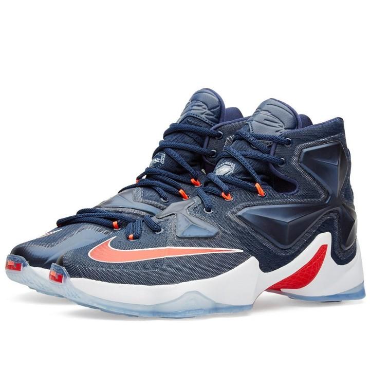 Nike - Men - Lebron 13  Usa  - 807219-461 - Size 11 7ed22a9ac4fa