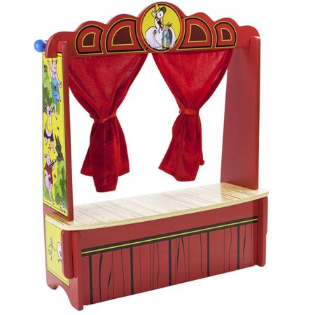 Floor Model Puppet Theater - Mother Gooses Tabletop Puppet Theater