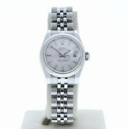 Pre-Owned Rolex Datejust 179174 Steel Women Watch (Certified Authentic & Warranty)