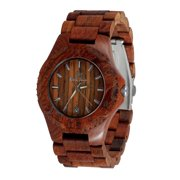 Handmade nature Wooden watch-Wood watch with date-wedding-Anniversary gift-Men's watch-Women's watch-Unisex watch-nature rosewood watch-Gamma III Series 2