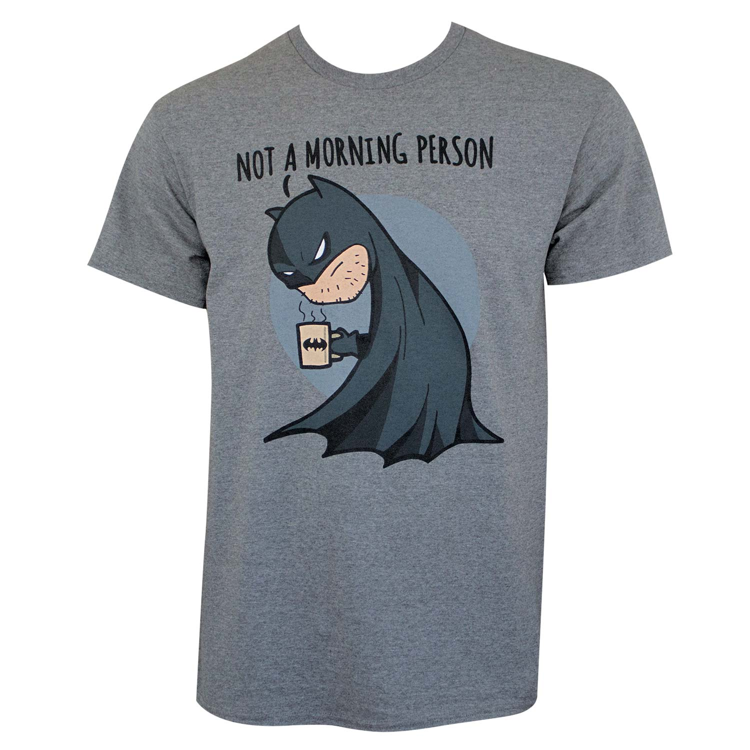 Batman Not A Morning Person Tee Shirt by Changes