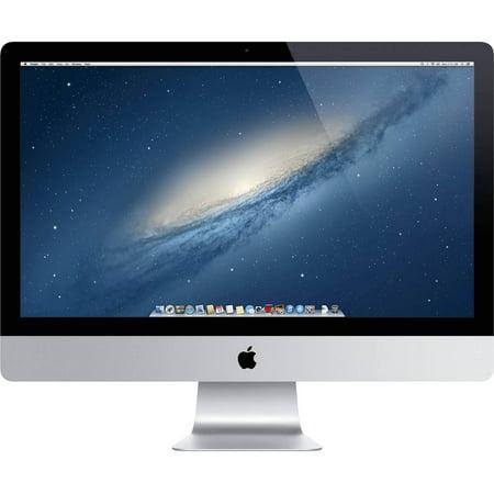 "Refurbished Apple iMac 27"" All In One Desktop PC Intel Quad Core i5 8GB 1TB - MD096LL/A"