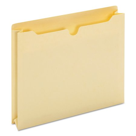 2 Inch Expansion File - Universal Economical File Jackets with Two Inch Expansion, Letter, 11 Point Manila, 50/Box -UNV76300