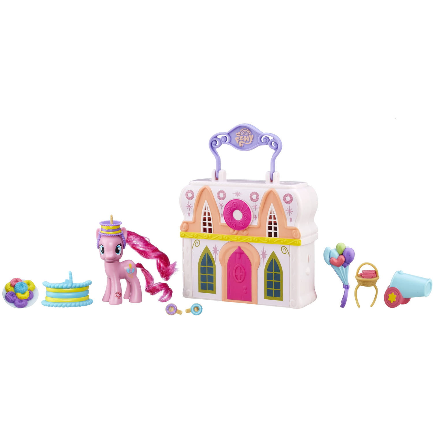 My Little Pony Friendship is Magic Pinkie Pie Donut Shop Playset by Hasbro
