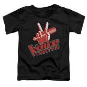 The Voice Red And White Little Boys Shirt