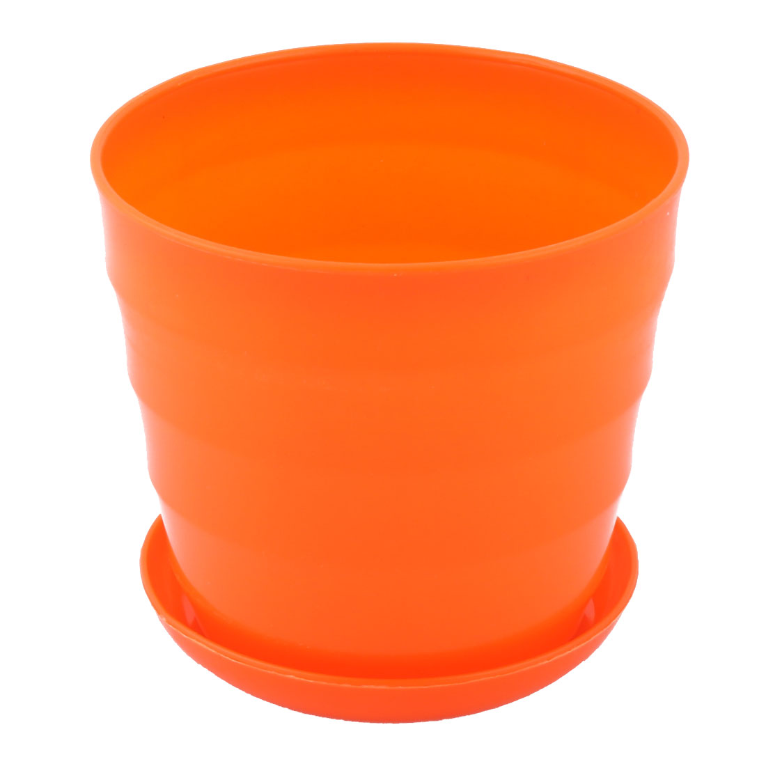 Orange Plant Pot Garden Design Ideas