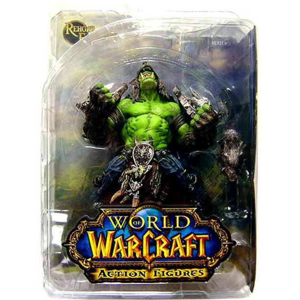 World Of Warcraft Orc Shaman Rehgar Earthfury Action Figure