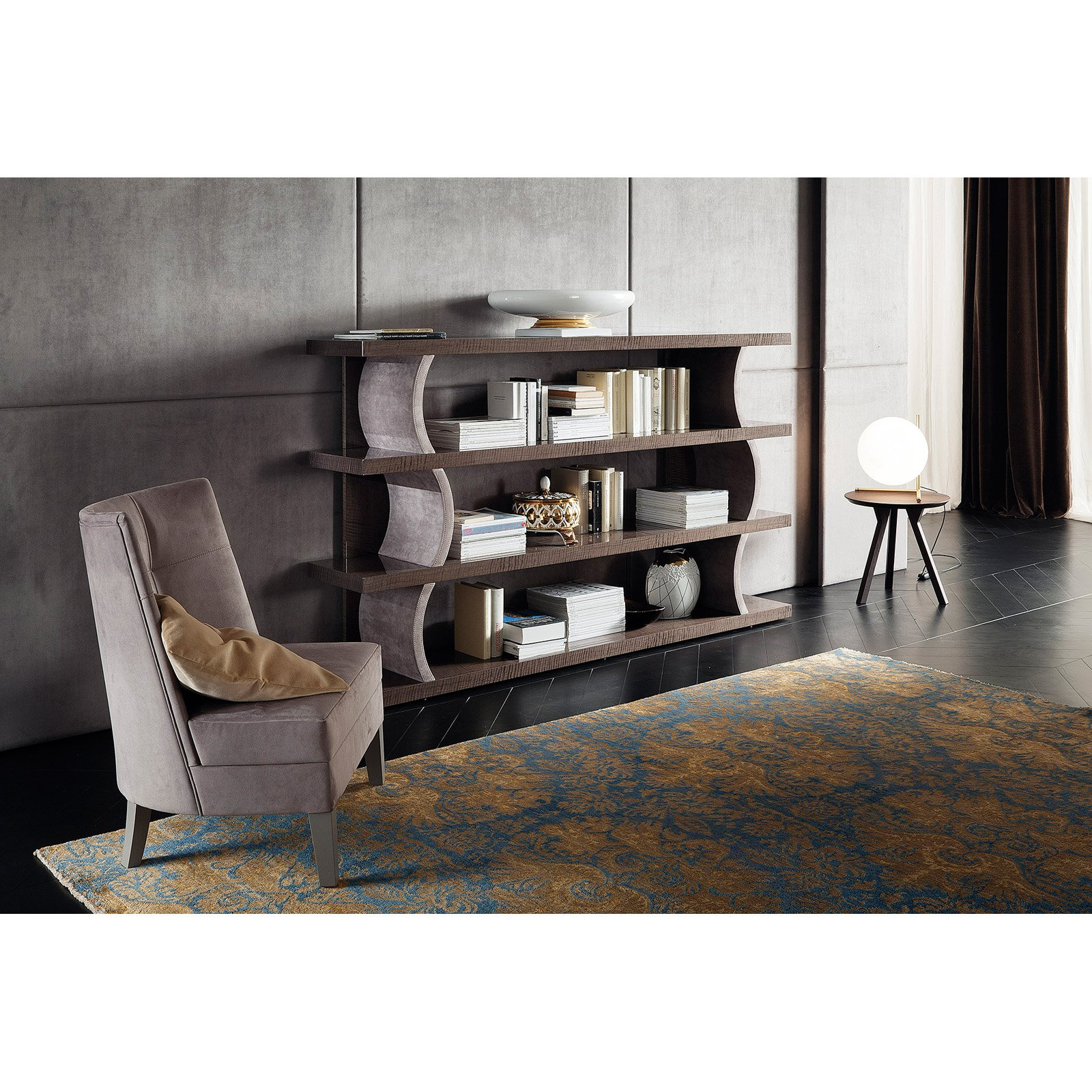 Rossetto Dune Visone Small Bookcase by