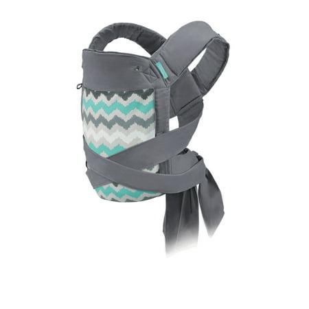 - Infantino Sash Wrap & Tie Mei Tai Carrier, Ikat Chevron