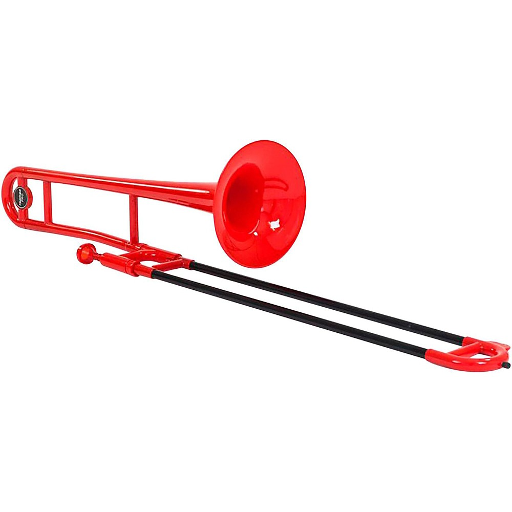 Allora ATB100 Aere Series Plastic Trombone Red by Allora