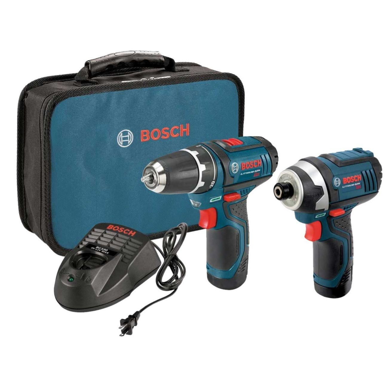 12 Volt PS31/PS41 Lithium-Ion Combo Kit CLPK22-120 Bosch Tools