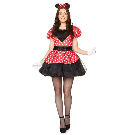 Halloween Costumes for Women, Miss Mouse Costume (Medium)