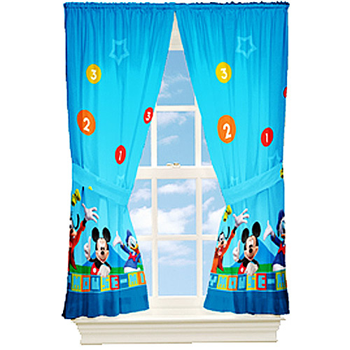 Charmant Mickey Mouse Dis Mickey Mouse Kids Bedroom Curtains