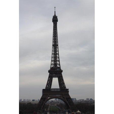 - Eiffel Tower Paris Skyline Photo Art Poster Print Print Wall Art