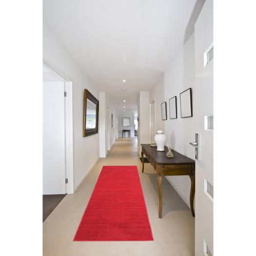 Ottomanson Ottomanson Red Aisle Hallway Runner Rug (1'10 x 12')