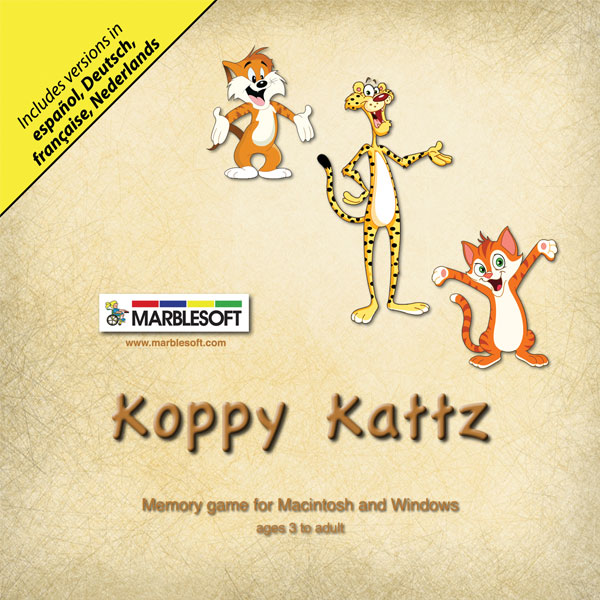 Koppy Kattz- For 5 Users -Software by Marblesoft