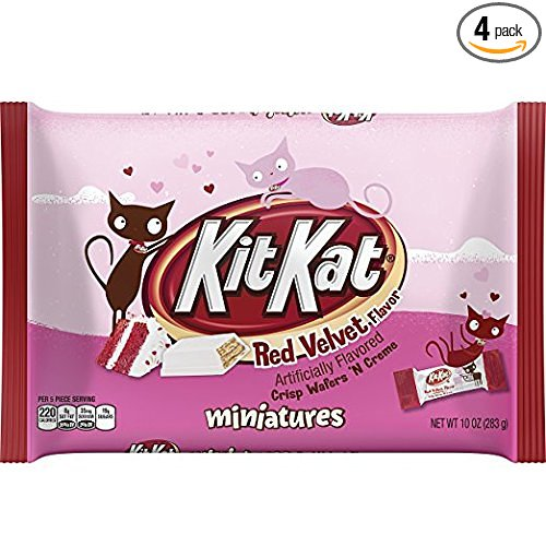 Kit Kat Cream Red Velvet Flavored Miniatures Candy, 10 Ounce (Pack of 3)