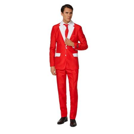 Suitmeister Men's Santa Outfit Christmas Suit (Miss Santa Outfits)