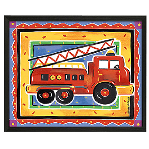 Timeless Frames Fire Engine Framed Art, 10x8