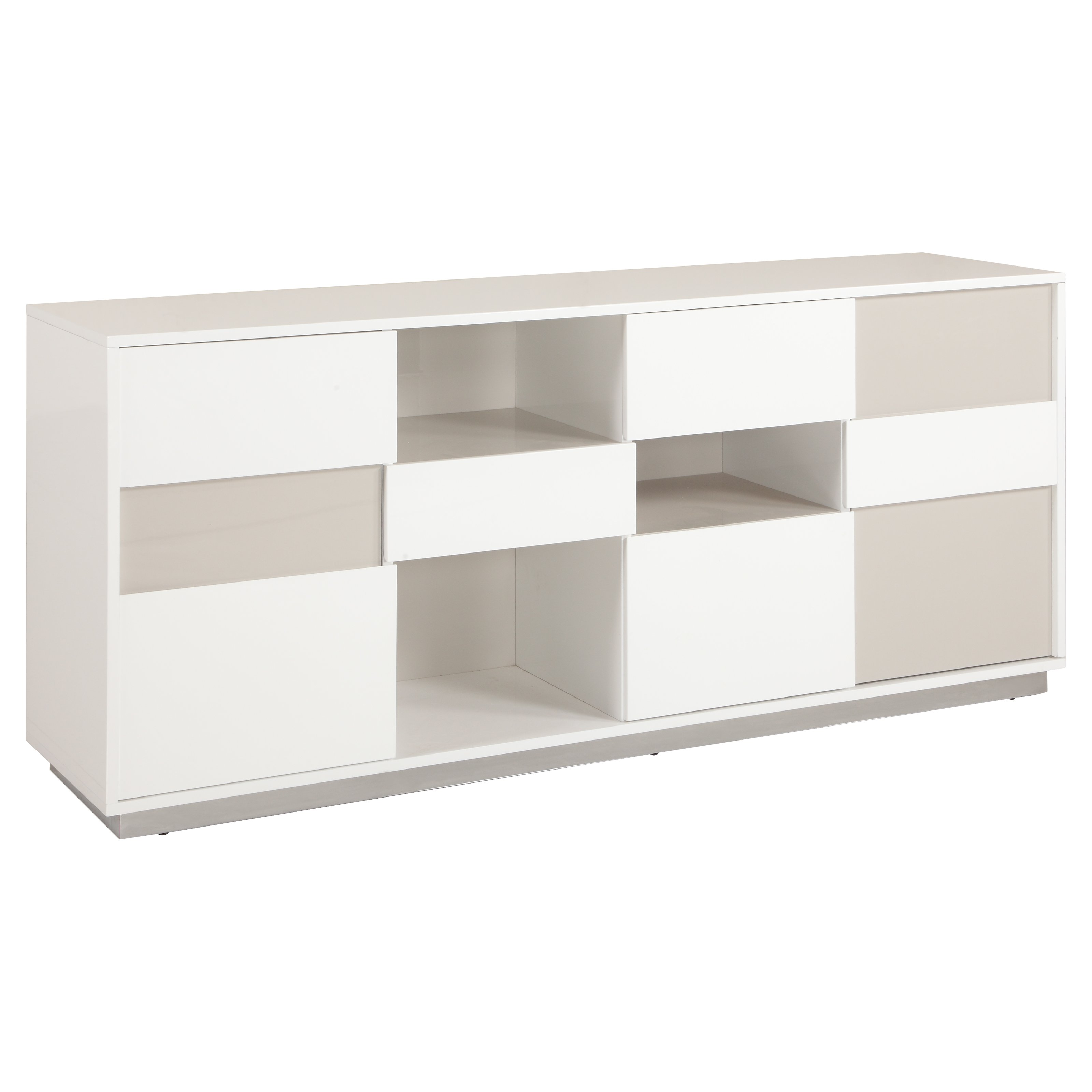 Contemporary Two Tone Buffet