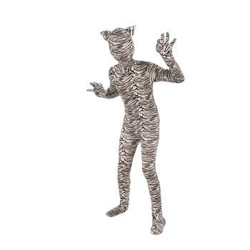 CHCO-I'M INVIS.WHITE - White Tiger Costume Child