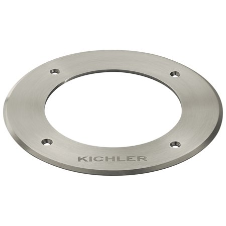 Image of Kichler 16290 Stainless Steel Landscape Led C Series Stainless Steel Trim Ring Accessory