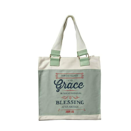 Tote Bag-Grace Canvas Tote (Other)
