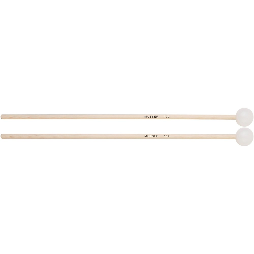 Musser Keyboard Hard Bell Mallets with Birch Handle MUS132 by Musser