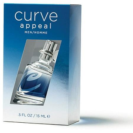 Curve Appeal For Men Cologne Spray, .5 oz