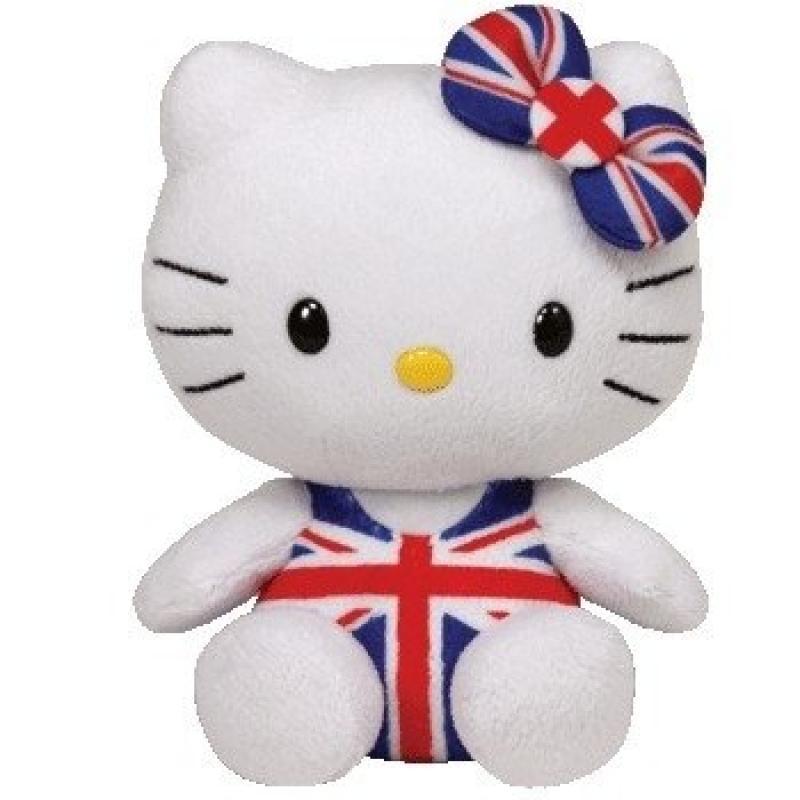 Ty Uk Hello Kitty Union Jack by TY Inc