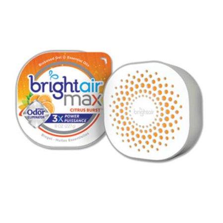 Bright Air 900436EA Max Odor Eliminator Air Freshener, Citrus Burst, 8 Oz (Air Max Tokyo)